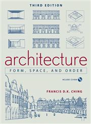 Architecture Form, Space, and Order 3rd Edition,0471752169,9780471752165