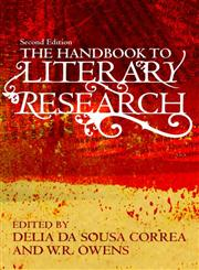 The Handbook to Literary Research 2nd Edition,0415485002,9780415485005