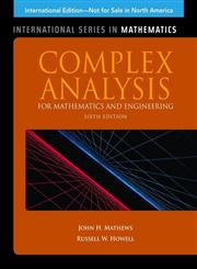 Complex Analysis for Math & Engineering 6th International Edition,1449628702,9781449628703