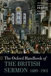 The Oxford Handbook of the British Sermon, 1689-1901,0199583595,9780199583591
