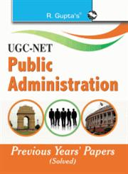UGC-NET—Public Administration Previous Papers (Solved),8178125811,9788178125817