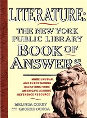Literature New York Public Library Book of Answers,0671781642,9780671781644