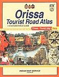 Orissa Tourist Road Atlas & State Distance Guide [Orissa - Tourist Map Free],8189875302,9788189875305