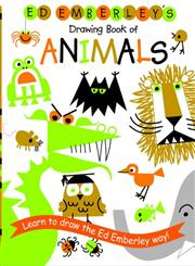 Ed Emberley's Drawing Book of Animals,0316789798,9780316789790
