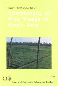 Ethnobotany of Rice Weeds in South Asia,8170194326,9788170194323