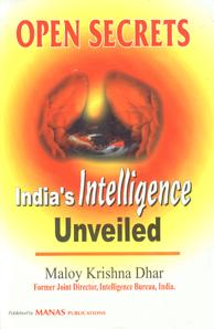 Open Secrets India's Intelligence Unveiled 3rd Impression,8170492408,9788170492405