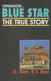 Operation... Blue Star The True Story 19th Reprint,8174760687,9788174760685