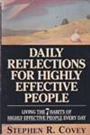 Daily Reflections for Highly Effective People Living the 7 Habits of Highly Effective People Every Day 1st Edition,0671887173,9780671887179