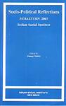 Socio-Political Reflections Subaltern 2007, Indian Social Institute,8189762206,9788189762209