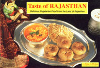 Taste of Rajasthan Delicious Vegetarian Food from the Land of Rajasthan 9th Printing,8176760080,9788176760089