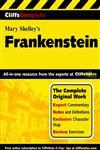 CliffsComplete Frankenstein,0764587269,9780764587269