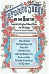 Favourite Songs of the Nineties Complete Original Sheet Music For 89 Songs,0486215369,9780486215365