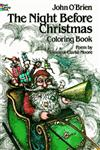 The Night Before Christmas Coloring Book 81st Edition,0486241696,9780486241692