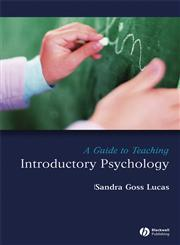 A Guide to Teaching Introductory Psychology,1405151501,9781405151504