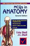 MCQs in Anatomy 2nd Edition, Reprint,8123909063,9788123909066