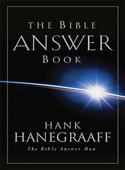 The Bible Answer Book From The Bible Answer Man,0849995442,9780849995446