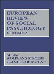 European Review of Social Psychology, Vol. 2,0471929999,9780471929994