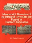 Manuscript Remains of Buddhist Literature Found in Eastern Turkestan Fascimiles with Transcripts Translations and Notes Edited in Conjunctions with Other Scholars (2 Parts with 22 Plates) 2nd Edition,817030158X