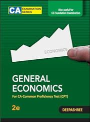 General Economics For CA-Common Proficiency Test (CPT) 2nd Edition,1259026531,9781259026539