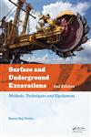 Surface and Underground Excavations Methods, Techniques and Equipment 2nd Edition,0415621194,9780415621199
