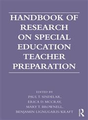 Handbook of Research on Special Education Teacher Preparation,0415893097,9780415893091