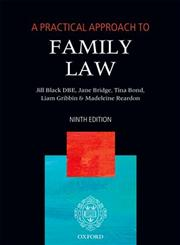 A Practical Approach to Family Law 9th Edition,0199693137,9780199693139