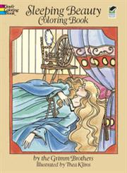 Sleeping Beauty Coloring Book Green Edition,0486273180,9780486273181