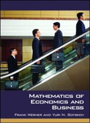 Mathematics of Economics and Business,0415332818,9780415332811