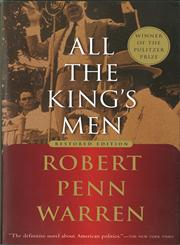 All the King's Men,0156012952,9780156012959