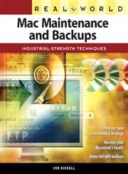 Real World Mac Maintenance and Backups,0321492188,9780321492180