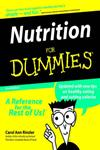 Nutrition for Dummies 2nd Edition,0764551809,9780764551802