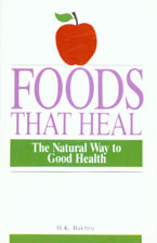 Foods That Heal The Natural Way to Good Health 30th Printing,8122200338,9788122200331