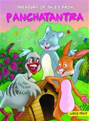 Treasury of Tales from Panchatantra Large Print Edition,8187107901,9788187107903