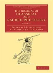 The Journal of Classical and Sacred Philology,1108053513,9781108053518