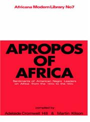 Apropos of Africa,0714617571,9780714617572