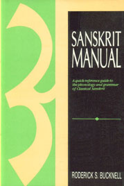 Sanskrit Manual A Quick-Reference Guide to the Phonology and Grammar of Classical Sanskrit 5th Reprint,8120811895,9788120811898