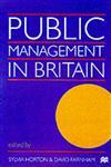 Public Management in Britain,0333737415,9780333737415