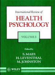 International Review of Health Psychology, Vol. 3 1st Edition,0471944564,9780471944560