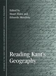 Reading Kant's Geography,1438436041,9781438436043