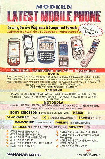 9788183331494modern Latest Mobile Phone Circuits Fault Finding