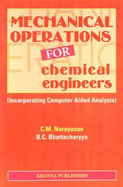 Mechanical Operations for Chemical Engineers Incorporating Computer-Aided Analysis 3rd Edition, 5th Reprint,8174090363,9788174090362
