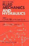 Fluid Mechanics and Hydraulics with Computer Applications With Computer Applications (In SI & MKS Units) 9th Edition, Reprint,8120004221,9788120004221