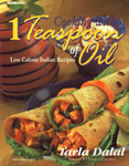 Cooking with 1 Teaspoon of Oil Low Calorie Indian Recipes 8th Printing,8186469672,9788186469675