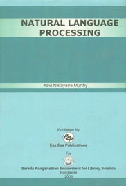 Natural Language Processing An Information Access Perspective 1st Published,8170004853,9788170004851