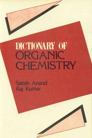Dictionary of Organic Chemistry,8170412390,9788170412397