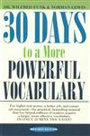 30 Days to a More Powerful Vocabulary,067174349X,9780671743499