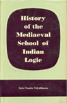 History of the Mediaeval School of Indian Logic 2nd Edition,8170690684,9788170690689