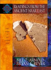 Readings from the Ancient Near East Primary Sources for Old Testament Study,0801022924,9780801022920