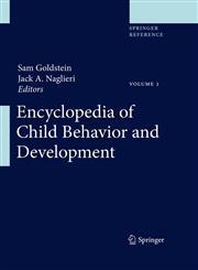 Encyclopedia of Child Behavior and Development 3 Vols.,038777579X,9780387775791