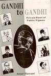 Gandhi to Gandhi Private Faces of Public Figures,8121205182,9788121205184